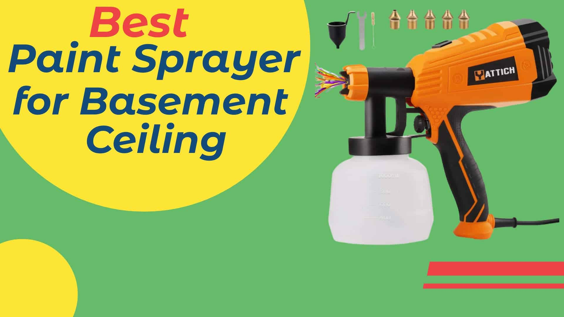 Best Paint Sprayer for Basement Ceiling