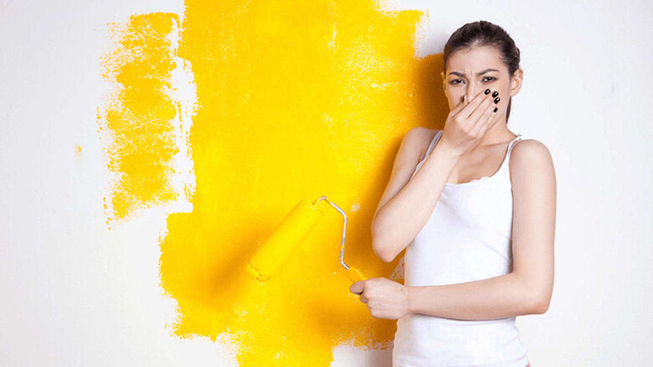 How To Get Rid Of Bad Paint Smell